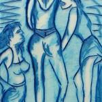 Ohne Titel 1998 (Glas, 60x42 cm)