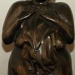 Spiegelbild 2007 (Holz, 40x90x40 cm)